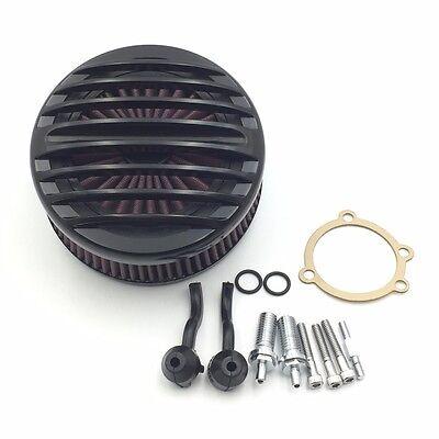 For Harley Davidson 2007-UP XL Sportster BK AIR Cleaner Intake Filter System Kit