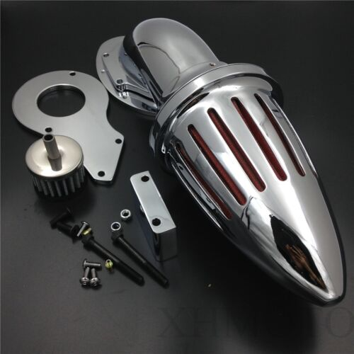 For Honda Shadow 600 VLX600 VLX 1999-2012 Chrome Air Cleaner Kits intake filter