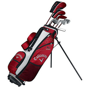 CALLAWAY XJ JUNIOR COMPLETE GOLF SET BOYS AGES 9-12 RIGHT HAND - NEW
