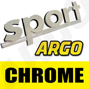 CHROME-SPORT-BADGE-SILVER-3D-EMBLEM-DECAL-STICKER-VAUXHALL-CORSA-SXI-SI-VXR-GSI