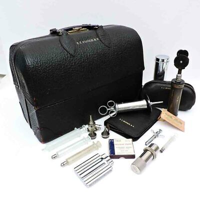 Briefcase and Instrument Case Leather Handle Replacement for Period Vintage Suitcase