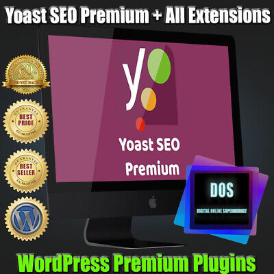 Yoast Seo Premium Plugin Wordpress All Extensions - Updated Version