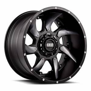 "20"" Grid GD1 4x4 Wheels (Ranger,Hilux,Everest,Fortuner,Colorado) Ferntree Gully Knox Area Preview"