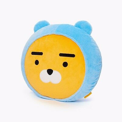 [KAKAO FRIENDS] Kakao Character Hoodie RYAN Face Cushion Free Tracking