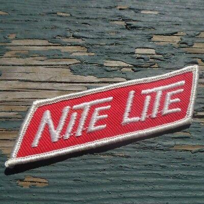 "Nite Lite Brand Hunting Headlights Light Systems Advertising Patch 3.5"" x 1"""