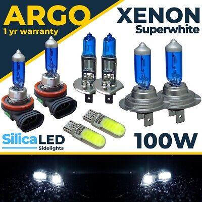 Para Ford Focus Faro MK3 LED Blanca Xenon 100w 2011-18 Niebla Lateral...