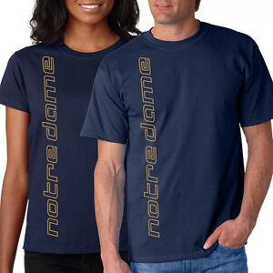 New notre dame vert shirt t shirt navy l xl 2x 3x 4x 5x for 3x shirts on sale