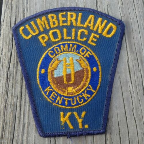 "Cumberland Police KY Kentucky 4.5"" Shoulder Patch"