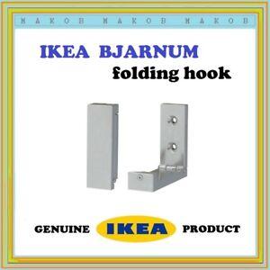 IKEA Bjarnum folding door wall hook coat clothes hanger * NEW X 1 SINGLE HOOK *
