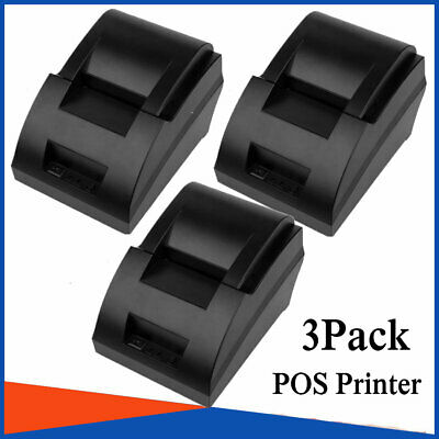 3x Usb Mini 58mm Pos Printer High Speed Thermal Dot Receipt Printer Big R5
