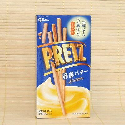 Japan Glico PRETZ Fermented Creamy BUTTER Cracker Stick pocky Japanese Candy