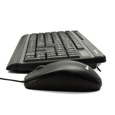 TECLADO + RATON OPTICO USB PHOENIX KEYMEDIA COLOR NEGRO CON CABLE ENVIO...