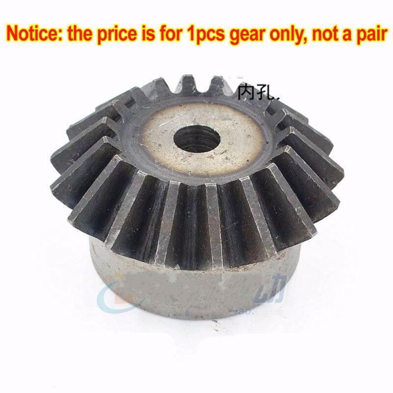 1Pcs Bevel Gear 3.0 Mod 15/16/17/18/19/20T 90 Deg 1:1 Pairing Metal Bevel Gear