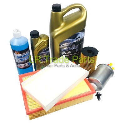 LAND ROVER DISCOVERY 3 2.7 TDV6 NEW SERVICE FILTER KIT INCLUDING OIL (2004-2006)