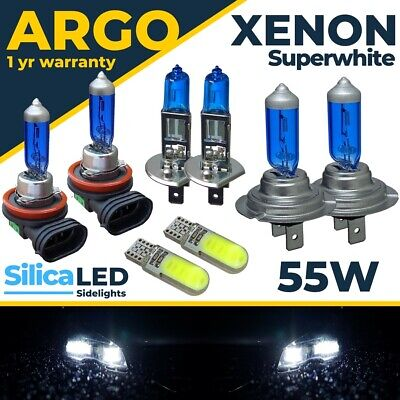 Para Ford Focus MK3 55w Faro LED Blanca Xenon Niebla Lateral Bombillas...