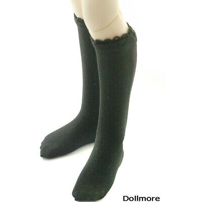 Dollmore stockings fit 1//4 BJD MSD Basic socks Gray