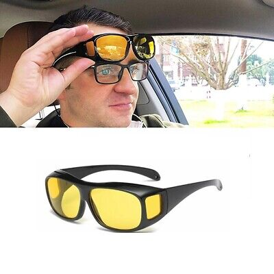 Autofahrer Nachtsichtbrille Fahren Kontrastbrille Nachtfahrbrille Sonnenbrillen