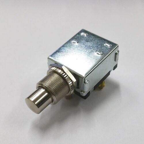 NEW SPST 15A 12V DC, OFF - (ON) Automotive Marine Momentary Push Button Switch