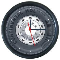 New Continental Tire Car Logo Wheel Tire Design Round Wall Clock