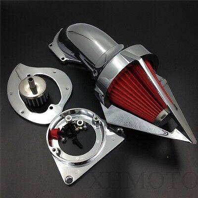 X. Spike Air Cleaner Intake Kits For Kawasaki Vulcan 800 chromed 1995-2012
