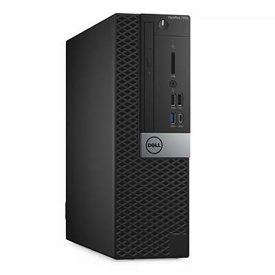Dell OptiPlex 7050 SFF i5-7500 7th Gen 8GB 256GB PCIe SSD W10PRO DVD-RW 3YR WRTY