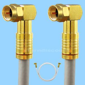 7m-angulo-F-Enchufe-coaxial-135db-5-compartimentos-provistos-Cable-de-antena