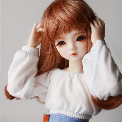 """Dollmore 17/"""" 1//4 BJD  clothes  MSD SIZE F White A1 Lapia Blouse"""