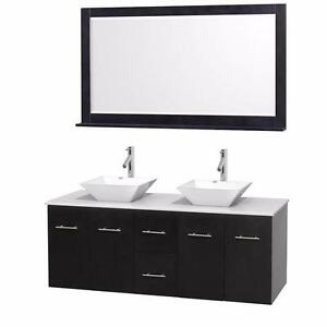 "Brand New 60"" Bathroom Vanity Set"