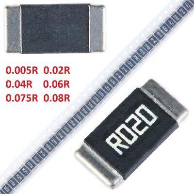 2512 Metal Alloy Smdsmt Chip Resistors 1 0.005r 0.02r 0.075r 0.08r 1w 2w 3w
