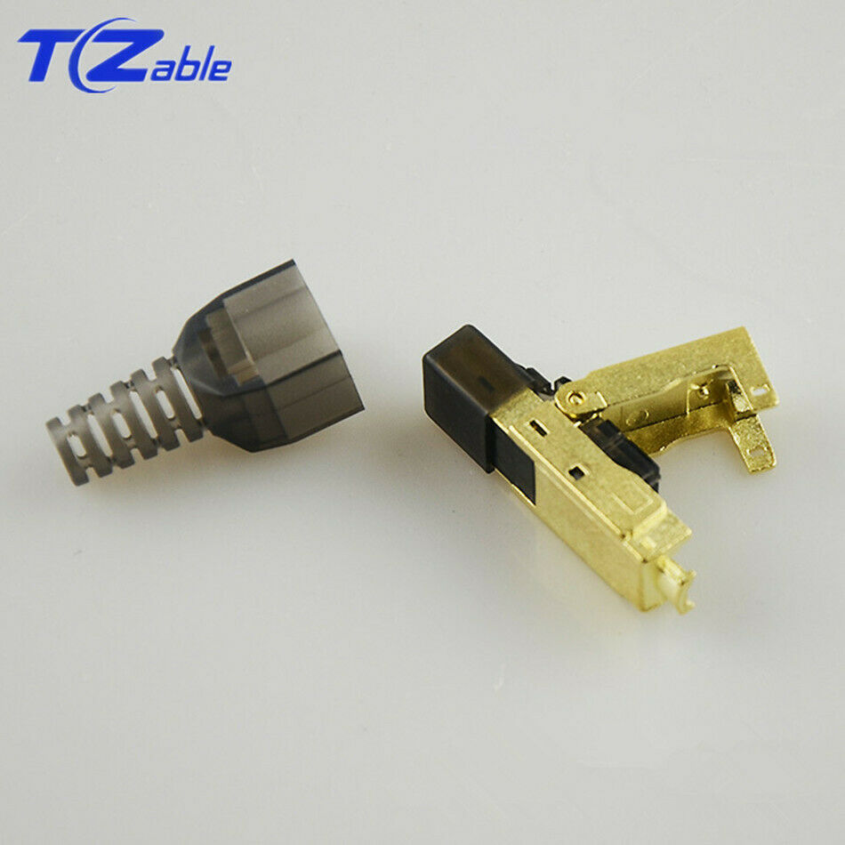 CAT8 Ethernet Rj45 Connector Shielded 8P8C Network Cable 5G Broadband Adapter