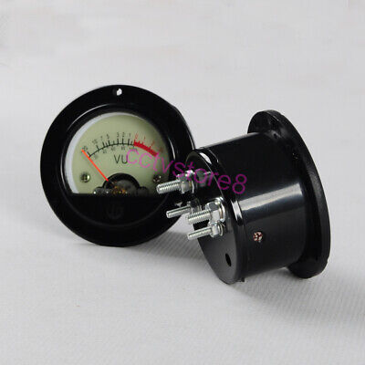 1pc Vu Panel Meter For Recording Audio Level 845 Warm Back Light 500a Brand New