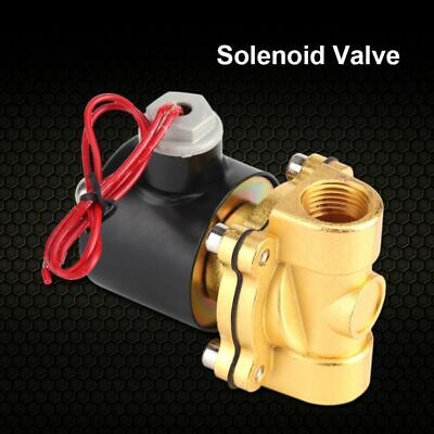 220v Electric Normal Closed Valve Electromagnetic Valve For Water Oil Air Gas