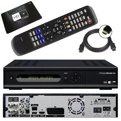 HD TWIN SAT Receiver + 12 Monate HD Plus mit PVR CI+ SmartTV FOXXUM WEB IP online kaufen