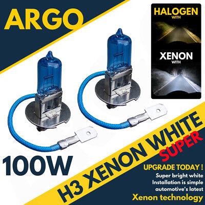 H3 100W XENON SUPER WHITE 453 HID HEADLIGHT BULBS KTM Adventure 990