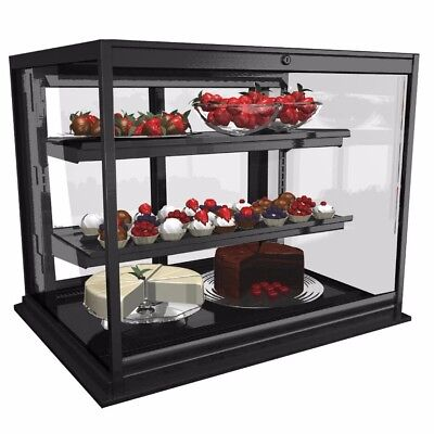 Refrigerated Counter Display Case Black Structural Concepts