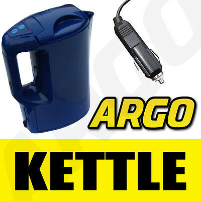 12V TRAVEL KETTLE CIG LIGHTER PLUG IN CAR VAN 1LTR 12 V
