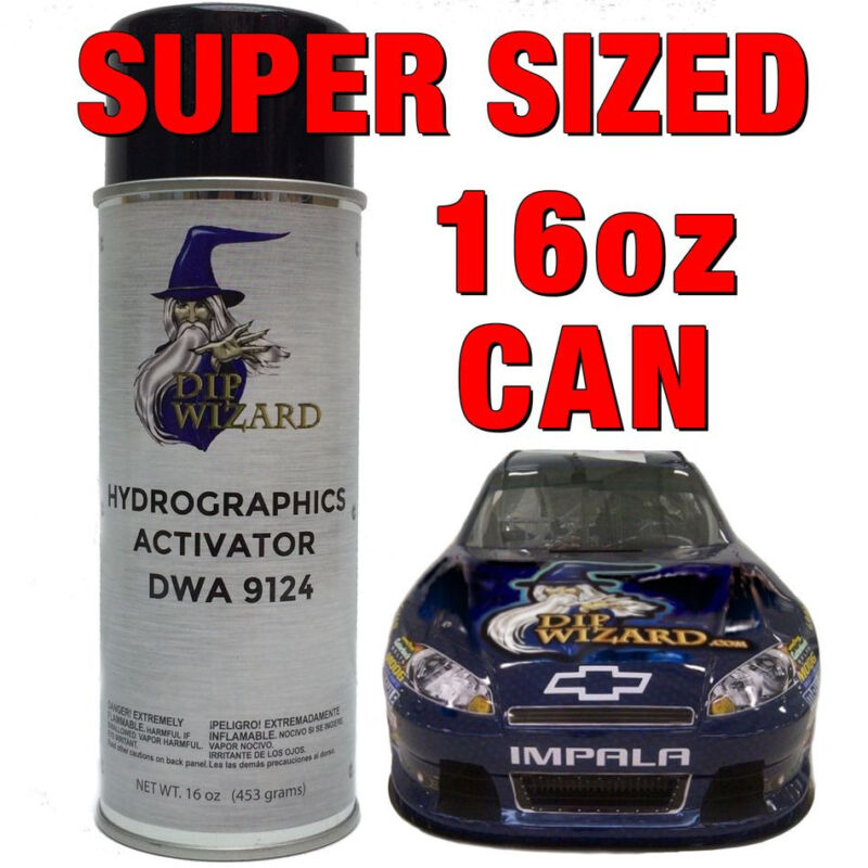 Hydrographics Activator - Water Transfer Printing - Hydro Dipping Spray (16oz.)