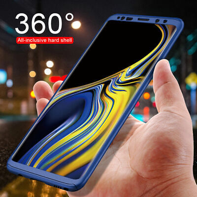 For Samsung Galaxy Note 8 S8+ 360° Full Body Cover Matte Phone Slim Shell Case