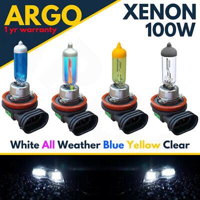 H11 100w Super Bright White 711 Xenon Headlight Front Fog Drl Hid Bulbs Lamp 12v
