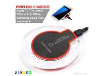 New Qi Wireless Charger Pad with Charging Receiver for Samsung Galaxy S3/S4/IPHONE5/5C/5S/6/6S/6 +