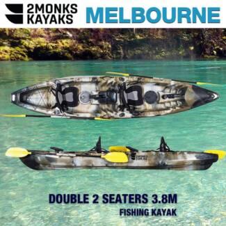 New Double Family Fishing 3.8M Kayak *2Monks*