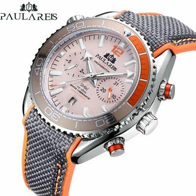 Best New Design Arrival Paulareis Men's Watch Automatic Mechanical Classic