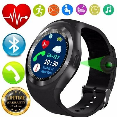2019 Best T1 Bluetooth Heart Rate Monitor Blood Pressure Smart Watch for Kid