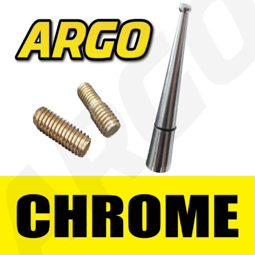CHROME BLACK BEE STING AERIAL ANTENNA MAST AM FM LEXUS RX300