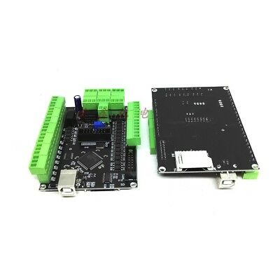 4 Axis Usbcnc Mk2 Motion Controller Interface Board Cnc Usb 100k Breakout Board