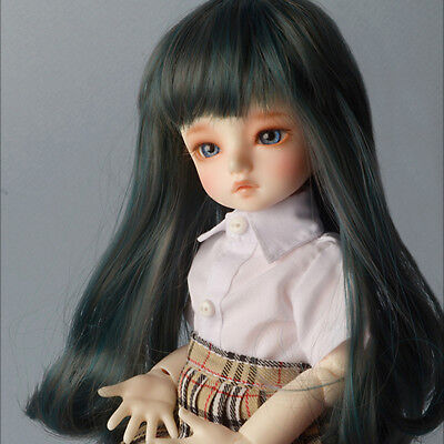 "M. Blonde 7-8 Dollmore 1//4 BJD /""  Synthetic Mohair Free Style Wig"