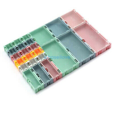 Small Objects Electronic Component Smtsmd Kit Parts Storage Box Assembly New Il