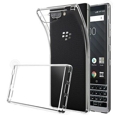 Ultra-thin Transparent Crystal Clear Case For Blackberry Key 2 Soft TPU Cover Thin Crystal