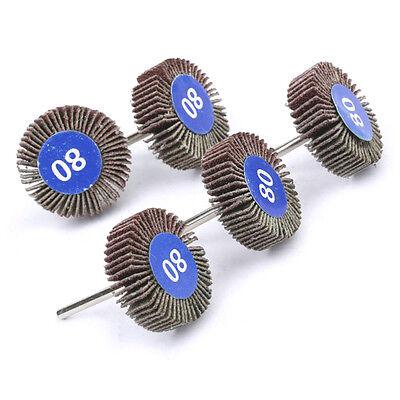 Flapwheel Disc Set For Dremel Rotary Tool Die Grinder Paint Rust Flapdisc Wheel
