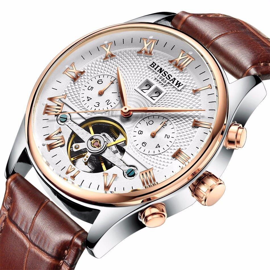 Automatik Herrenuhr Armbanduhr Chronograph